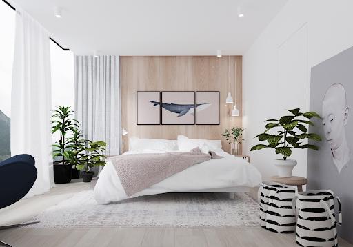 8 lưu ý khi bố trí giường ngủ để sức khỏe dồi dào, gia đình hòa thuận - Ảnh 1.