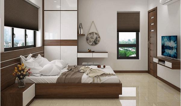 8 lưu ý khi bố trí giường ngủ để sức khỏe dồi dào, gia đình hòa thuận - Ảnh 2.