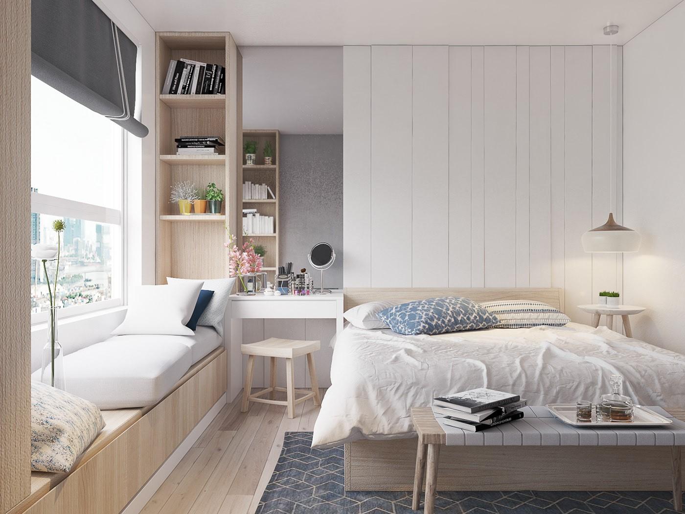 8 lưu ý khi bố trí giường ngủ để sức khỏe dồi dào, gia đình hòa thuận - Ảnh 3.