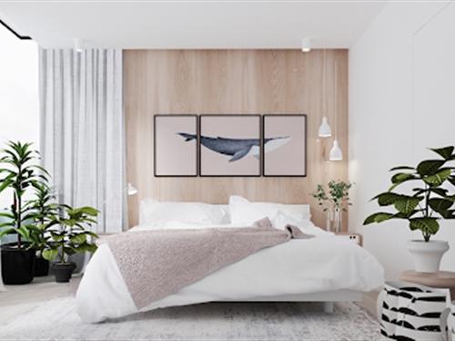 8 lưu ý khi bố trí giường ngủ để sức khỏe dồi dào, gia đình hòa thuận