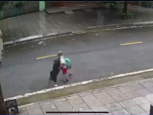 Bé trai bị chó tấn công giữa đường, 10 giây trước khi tai nạn xảy ra khiến các phụ huynh khiếp sợ