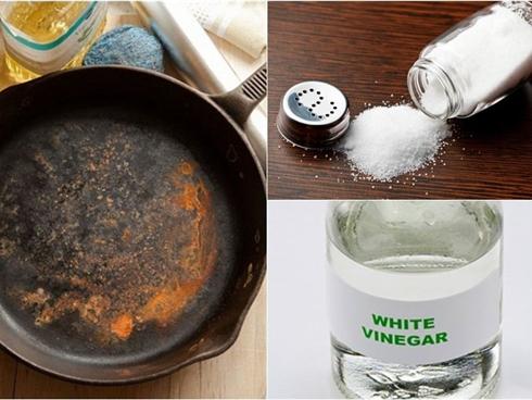 Cách tẩy sạch bóng vết gỉ sét cho mọi đồ dùng trong nhà bếp