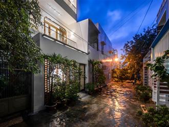 Kiến trúc sư trẻ cải tạo căn nhà cũ tặng ba mẹ tại Nha Trang