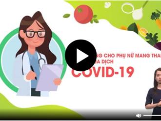 Lời khuyên cho phụ nữ mang thai giữa mùa dịch COVID-19