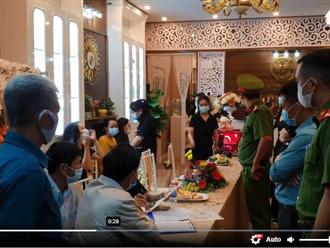 Video: 31 người tụ tập khai trương thẩm mỹ viện, tất cả đều không khai báo y tế