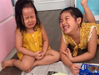 Con gái khóc thét khi nhìn thấy bánh sinh nhật mùa Covid mẹ và chị làm tặng, bố đảm đang ra tay trợ giúp