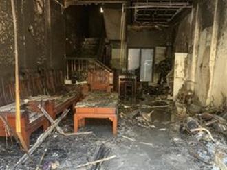 Cứu an toàn 5 người trong một vụ cháy tại Hải Phòng