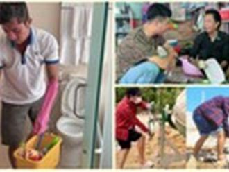 Có tên tuổi, sao Việt vẫn dọn vệ sinh, phụ hồ, lái xe ôm