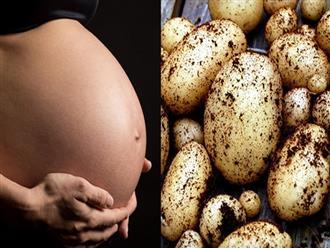 Bà bầu ăn khoai tây cần lưu ý những gì để bảo vệ thai nhi khỏe mạnh