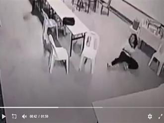 Camera ghi lại khoảnh khắc 'khó lý giải' tại một khách sạn, xem clip thôi cũng thấy sởn da gà