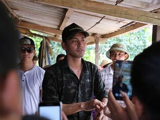 MC Phan Anh rơi nước mắt gửi lời cảm ơn những người đã xin lỗi anh vì chuyện từ thiện